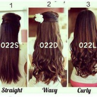 Hairclip Big Layer (Lurus / Curly / Wavy)