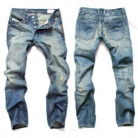 [globalbuy] New 2017 Beswlz Brand Ripped Jeans Men Casual Fashion Classical Male Denim Jea/4136885