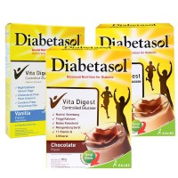 [180gr] Diabetasol Nutrition for Diabetic (Chocolate/Vanilla/Cappuccino)