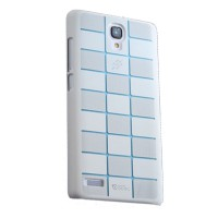 Max Ultra Thin Fit Sparkle Air Case For Xiaomi Redmi Note - White List Blue