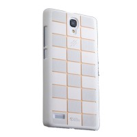 Max Ultra Thin Fit Sparkle Air Case For Xiaomi Redmi Note - White List Gold