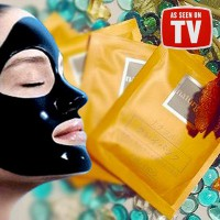 [Naturgo Mud Mask] 1Box = 10pc *Komedo Bersih Sempurna* | Black Mask | Shiseido Mud Mask