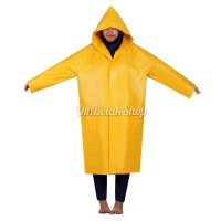 Jas Hujan Coat Proyek Tiger Head 68259 Kuning / Orange Raincoat Poncho