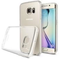 Rearth Samsung Galaxy S6 Edge Soft Case Ringke Flex - Crystal View