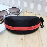 Suede zipper sunglasses case sunglasses case sunglasses fashion sunglasses fashion sunglasses pouch angyeongjip