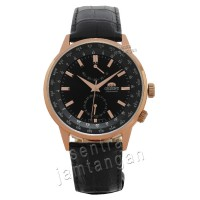 ORIENT SFA06001B0 Automatic - Dial Hitam - Rose Gold - Water Resist 50mtr
