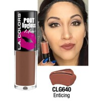 LA COLORS POUT LIPGLOSS MATTE ENTICING