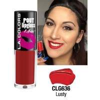 LA COLORS POUT LIPGLOSS MATTE LUSTY