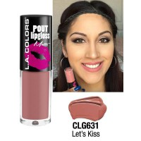 LA COLORS POUT LIPGLOSS MATTE LET'S KISS