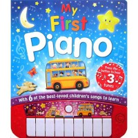 [HelloPandaBooks] My First Piano Board Book with 6 of the Best-Loved Children's Songs to Learn
