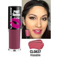 LA COLORS POUT LIPGLOSS MATTE KISSABLE