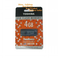 Toshiba Flashdisk 4GB / USB Flash Memory / Hi-Speed Transfer / Putih