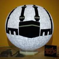 Lampion Benang Lampu Tidur Night Light Cotton ball Ka'bah Kab