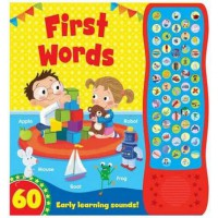 Buku Anak FIRST WORDS WITH 60 EARLY LEARNING SOUNDS