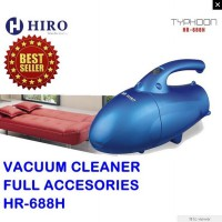 Hiro Vacuum Cleaner Hr-688h - Biru (Full Accesories)