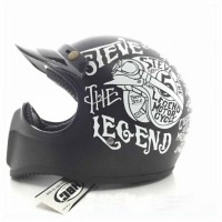 HELM CAKIL HBC STEVE THE LEGEND HITAM