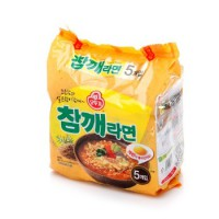 [Ramen] ottogi 5pcs chamkke korean food Ramym 한국라면