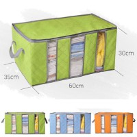 STORAGE BOX 65 liters bamboo charcoal clothing boxes / Bamboo Storage Bag 3 sisi