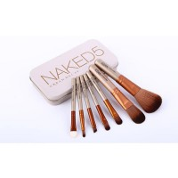 Naked 5 kuas brush makeup isi 7 make up  SJ0067