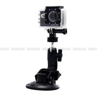 GoPro Suction Cup 9CM with Tripod Mount & Knob Screw for GOPRO, BRICA B-PRO & Xiaomi Yi Camera