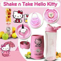 Shake and take generasi 4 HELLOKITTY 2 tabung gelas HK
