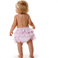 Mudpie A Bunny Bow Bloomer # 176082
