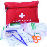 Outdoor First Aid Kit 13 in 1 - Red