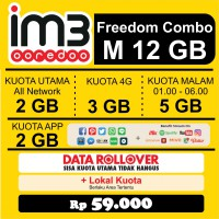 Promo Freedom Combo M Paket Data Internet Indosat