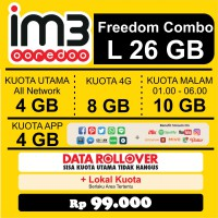 Promo Freedom Combo L Paket Data Internet Indosat