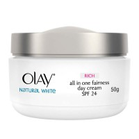 P&G Olay Natural White Rich all in One Fairness 50gr
