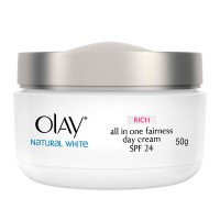 Olay Natural White Rich all in One Fairness Day Cream 50gr