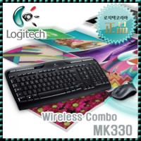Logitech 正品 Wireless Combo MK330] wireless keyboard and mouse set / 2.4GHZ/USB / Uni Clarifying receiver / comfortable typing