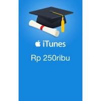 iTunes Gift Card (IGC) Indonesia 250rb **Kode Only**