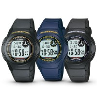 JAM TANGAN CASIO DIGITAL F-200 W SERIES