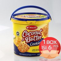 Biskuit Kokola Coconut & Butter Cookies 400 gr (1 Dus = 6 Bucket)