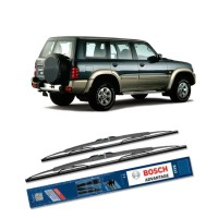 Bosch Sepasang Wiper Kaca Mobil Nissan Patrol GR (2010-On) Advantage 20' & 20' - 2 Buah/Set