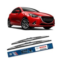 Bosch Sepasang Wiper Kaca Mobil Mazda 2 (2015-on) Advantage 22' & 17' - 2 Buah/Set