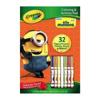CRAYOLA Color & Activity Books Minions 045856