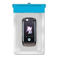 Zoe Waterproof Bag Case For Motorola RAZR2 V9 - Biru