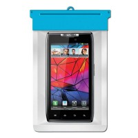 Zoe Waterproof Bag Case For Motorola RAZR MAXX - Biru