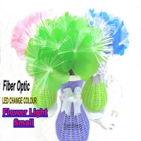 Vas Bunga Plastik ( Fiber Optic Led Light )