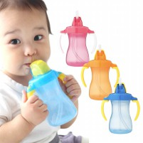 PIGEON Petite Straw Bottle Anti Bocor BPA Free 150...