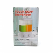 Touch Soap Dispenser -Dispenser Sabun Cair XG03 2 Tabung