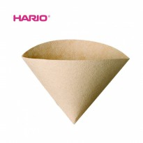 HARIO V60 VCF-02-100M Coffee Paper Filter 02 Brown