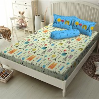 New Sprei Kintakun Deluxe Mercy Paris 120X200 / Spf 267