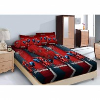 New Sprei Kintakun Deluxe Spiderman 120X200 / Spf 268