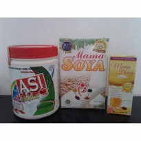 Paket Asi Booster Tea, Mama Soya, Mama Honey