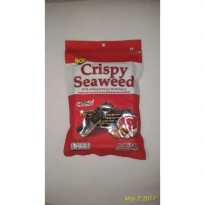 Noi crispy seaweed spicy with almond snack rumput laut