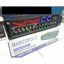 power mixer 4 channel marcopolo mc
