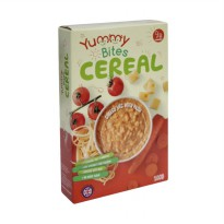 Yummy Bites Cereal 100 gr - Cheesy Vegetable With Pasta
